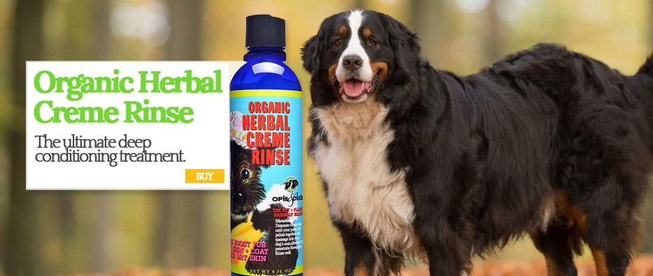 Organic Herbal Creme Rinse