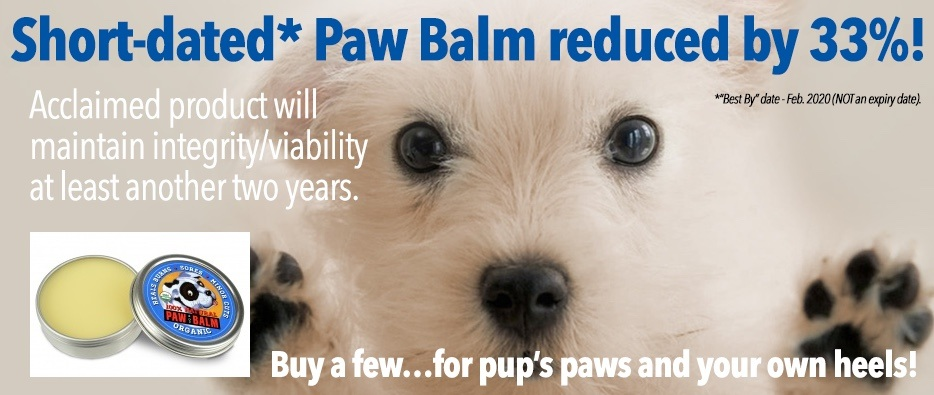 Short Dated Paw Balm